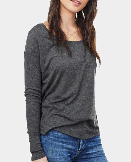 longsleeve t-shirt-dames